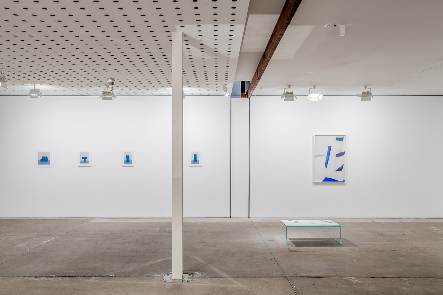 <p>Georgia Hutchison and Arini Byng. Installation view, Lit from the Top: Sculpture through Photography, Centre for Contemporary Photography. Photography: Christo Crocker.</p>
