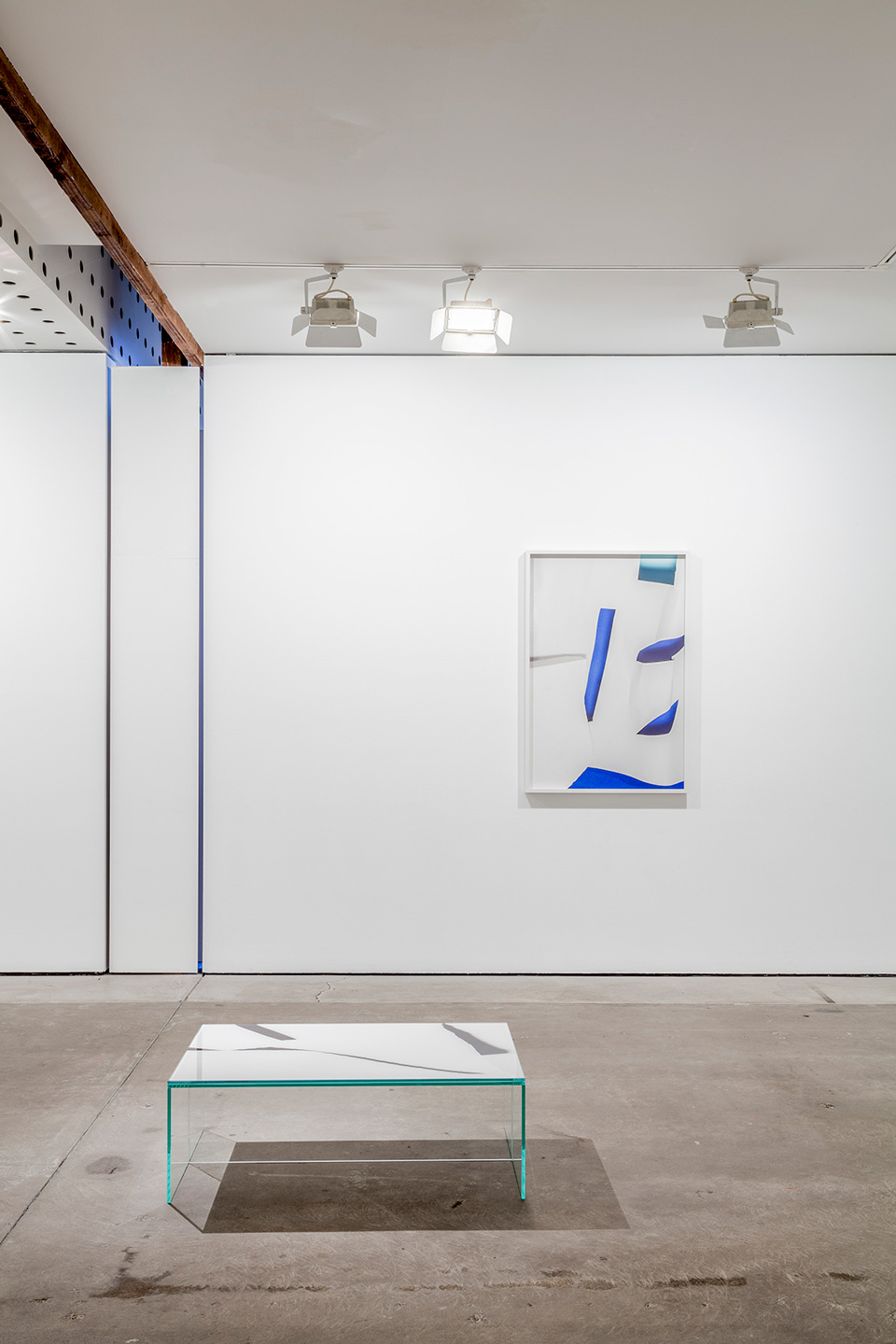 <p>Georgia Hutchison and Arini Byng. Installation detail, Lit from the Top: Sculpture through Photography, Centre for Contemporary Photography. Photography: Christo Crocker.</p>